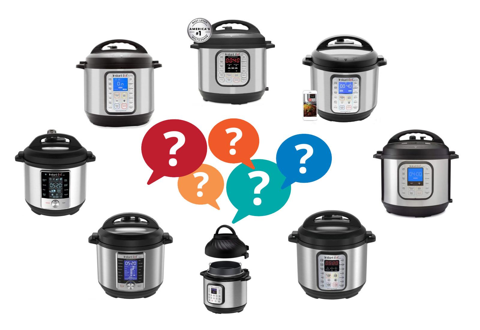 Choosing the best Instant Pot Canada