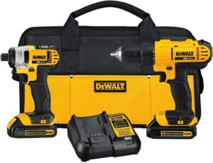 Save $50 off of the DeWalt Combo Drill Kit