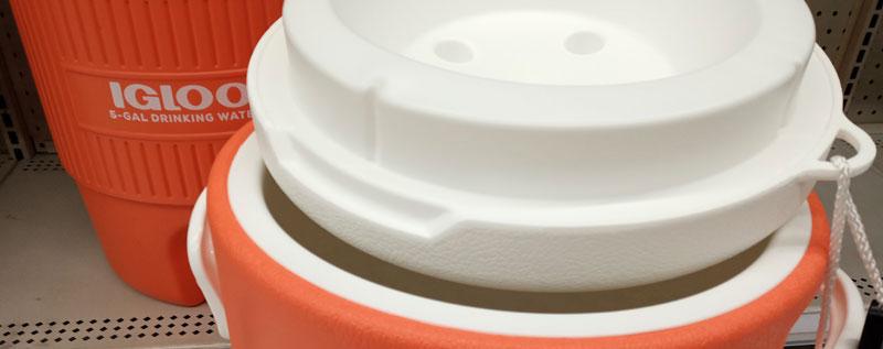 Igloo 5 gallon insulated water jug