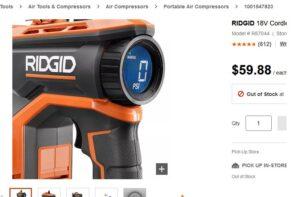 Ridgid says it has the best cordless inflator…